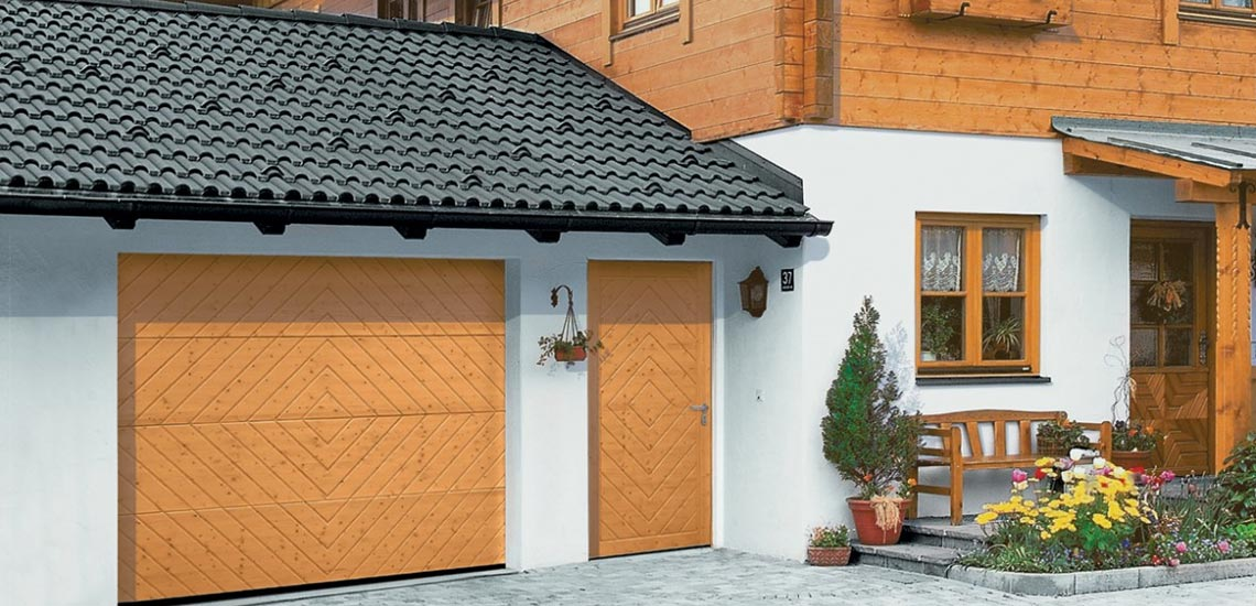 гараж пристроенный к дому