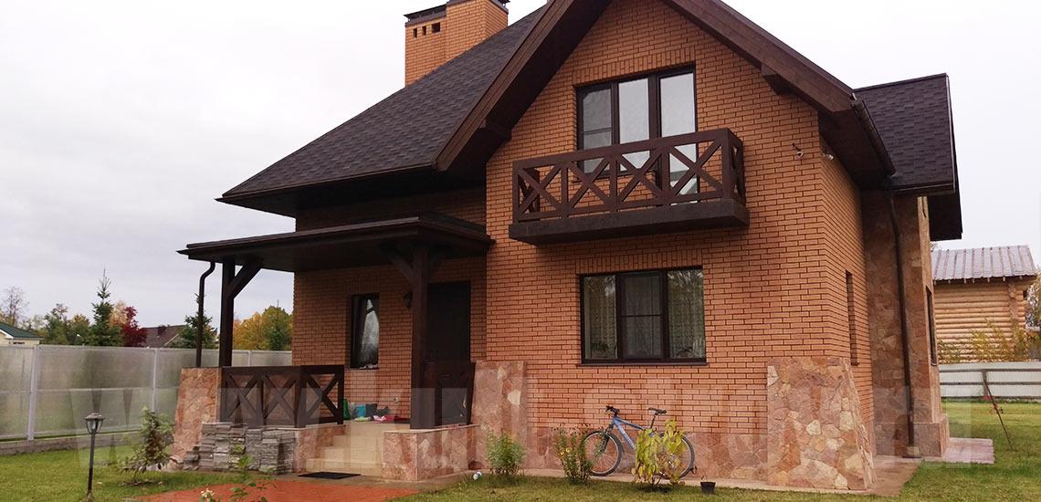 Строительство дома в Петродворце