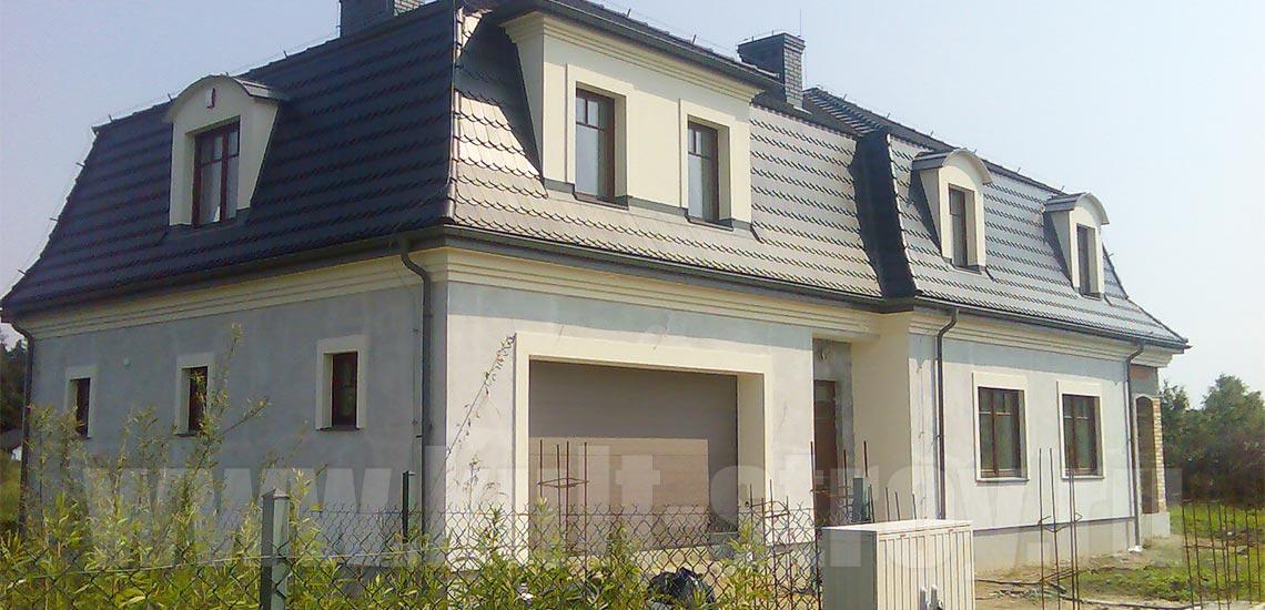 дом в пригороде Варшавы