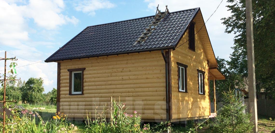 каркасный дом в лен. области
