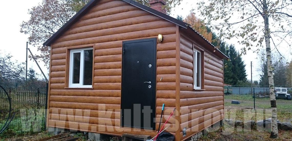 готовый домик для охраны