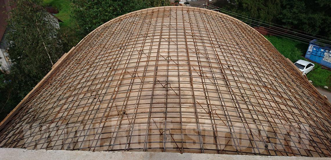арматурная сетка для полукруглой арки