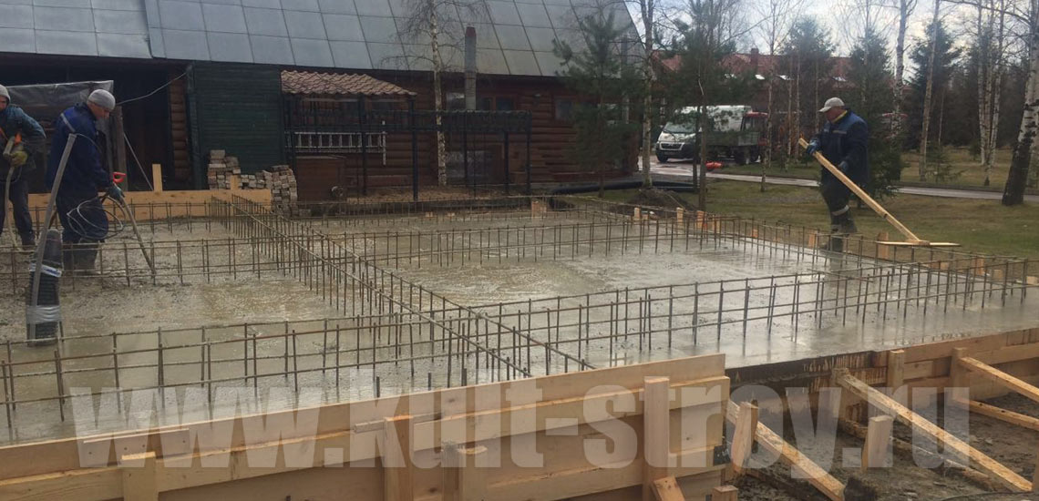 выравнивание бетона