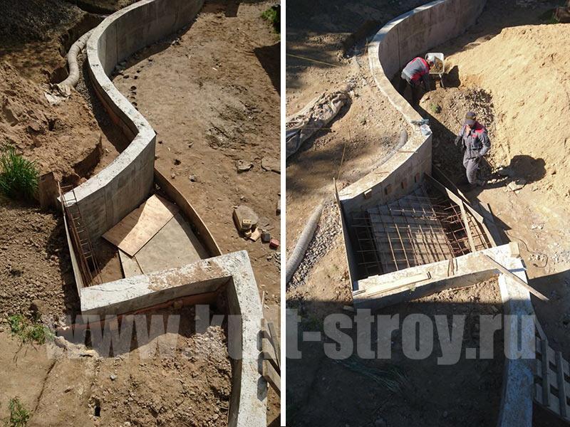 бетонная лестница 3