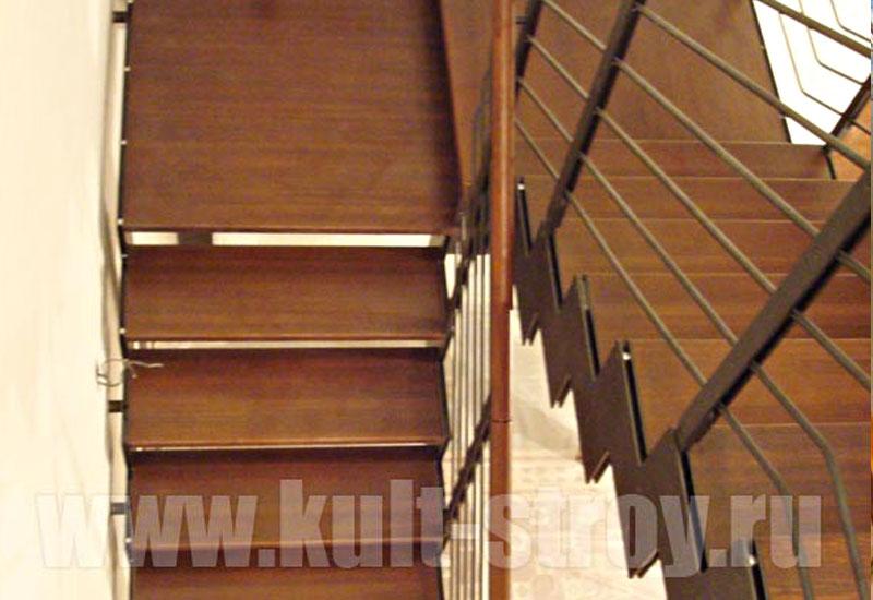 деревянная лестница модель 9