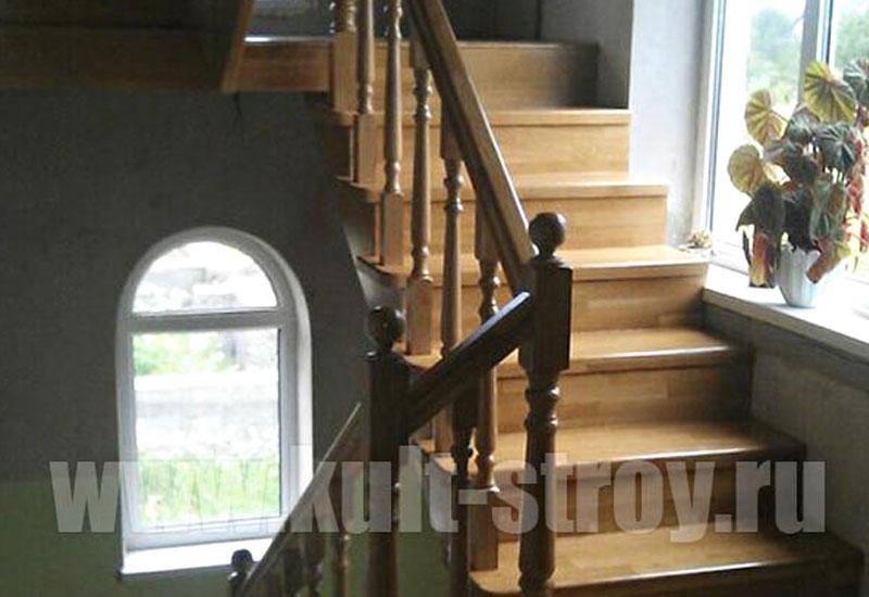 деревянная лестница модель 3