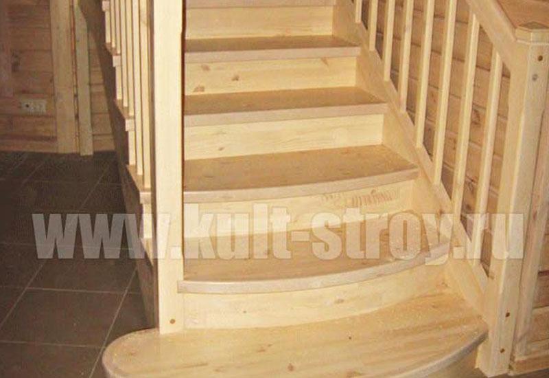 деревянная лестница модель 4
