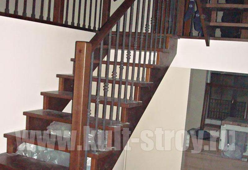 деревянная лестница модель 7