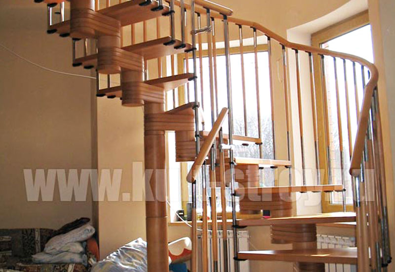 винтовая лестница модель 3