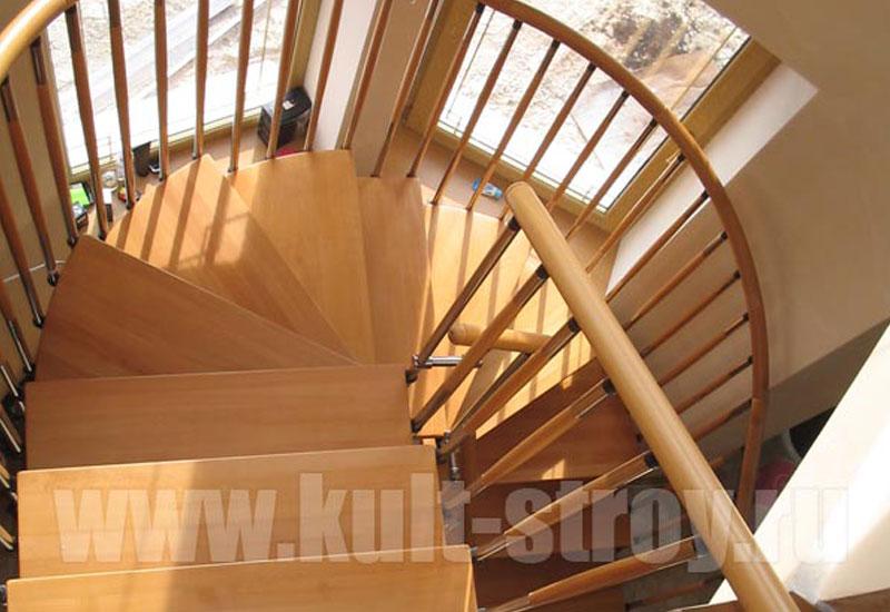 винтовая лестница модель 5