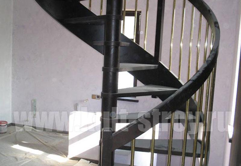 винтовая лестница модель 8