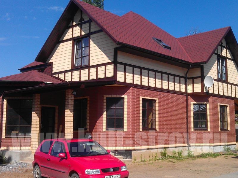 дом в д. Колтуши