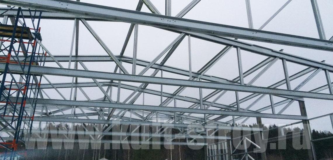 постройка ангара для техники