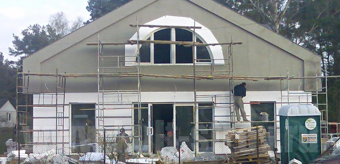 строительство дома в варшаве