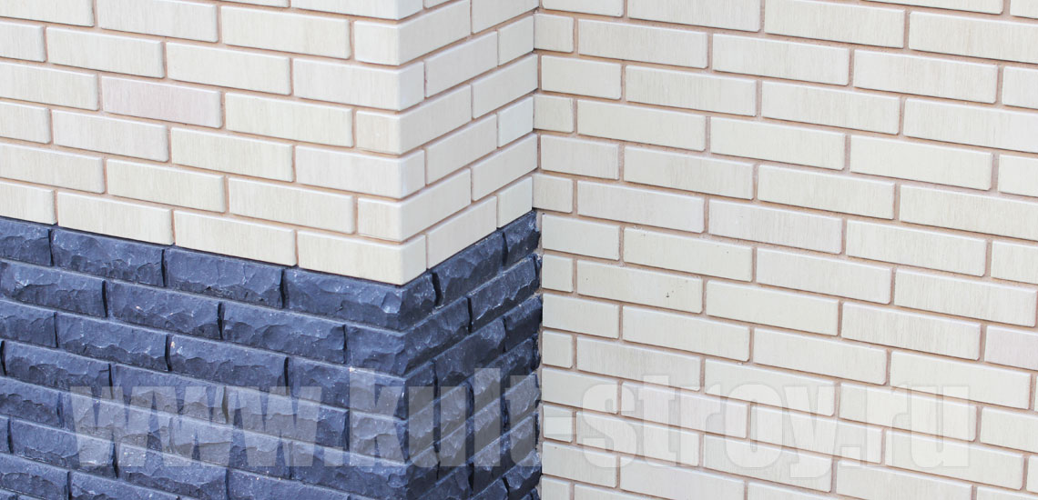 стена облицованная кирпичом