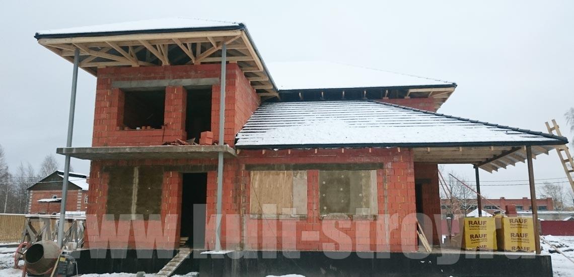 строительство дома в петергофе