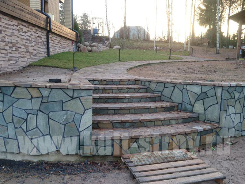 бетонная лестница 2