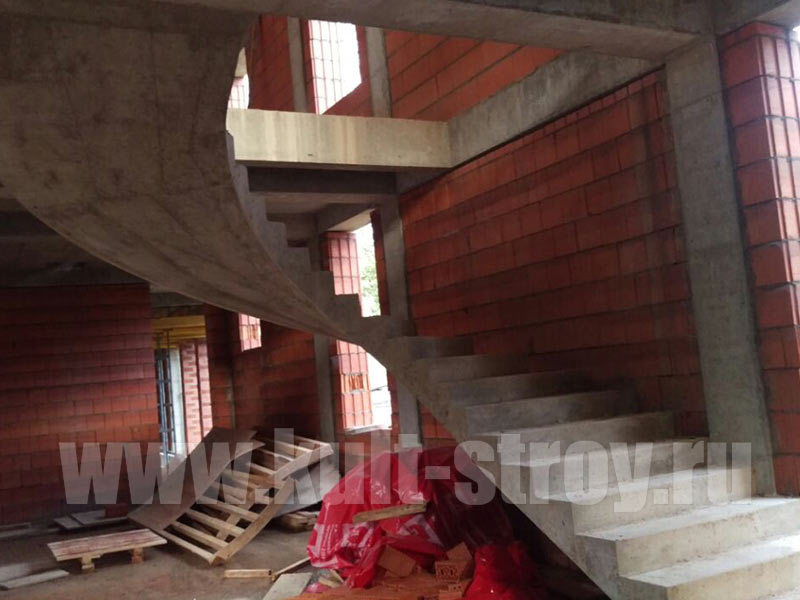 бетонная лестница 5