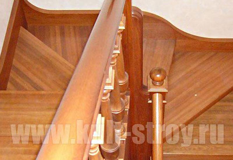 деревянная лестница модель 2