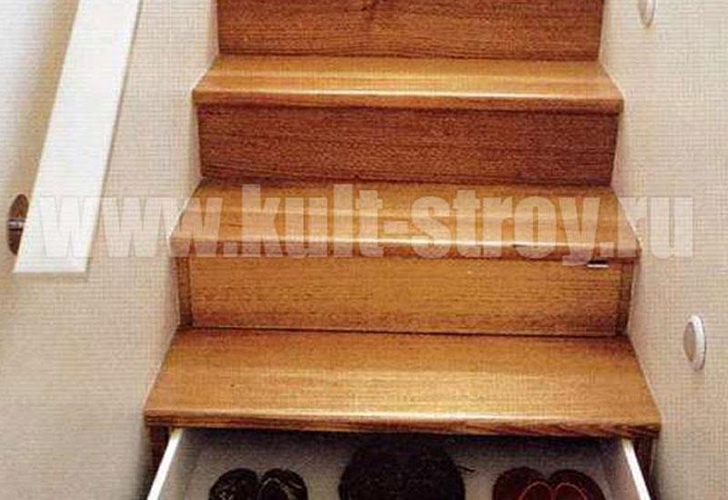 деревянная лестница модель 5
