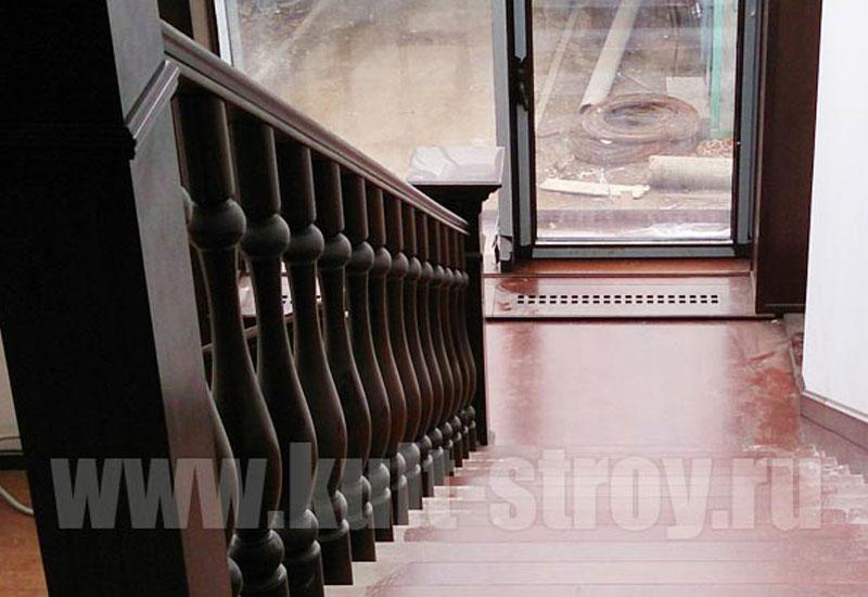 деревянная лестница модель 6