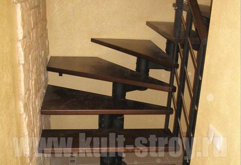 винтовая лестница модель 2