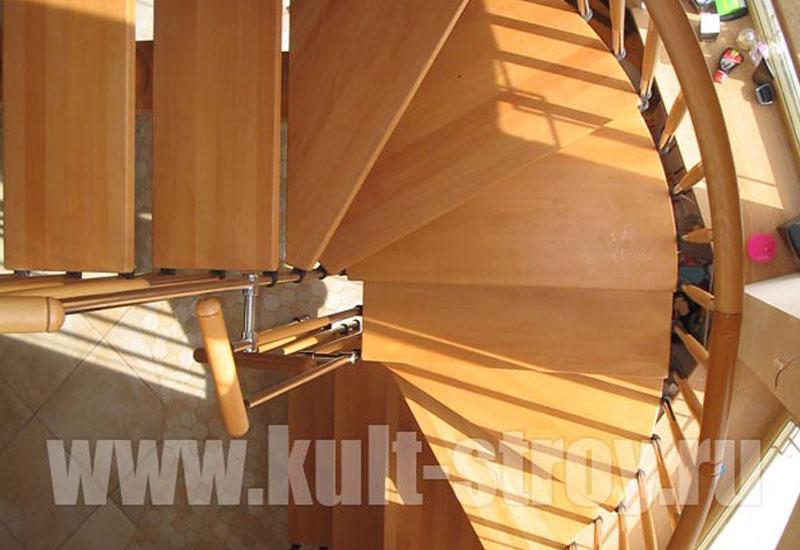 винтовая лестница модель 4