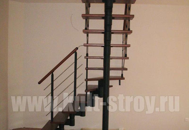 винтовая лестница модель 7