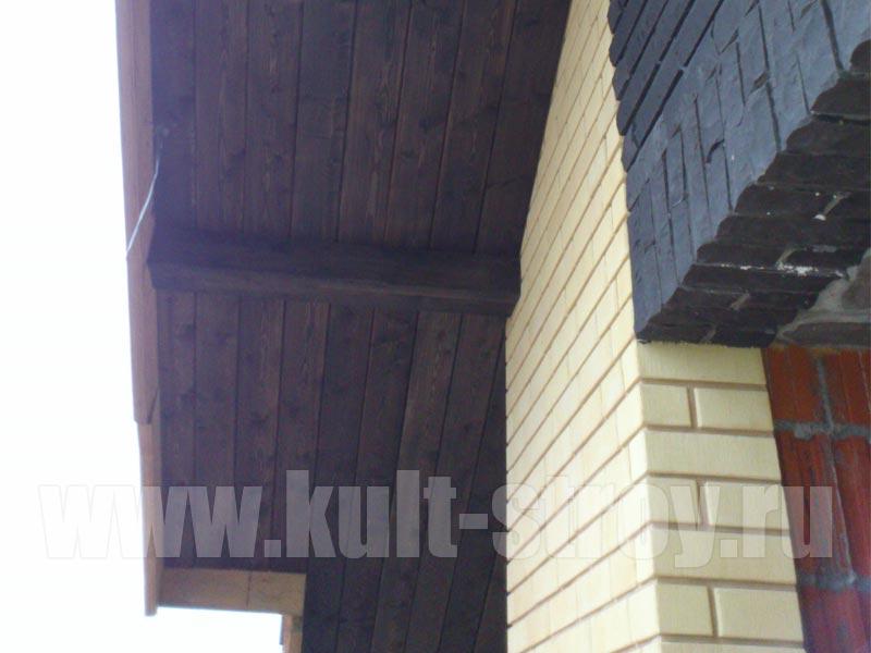 подшив крыши