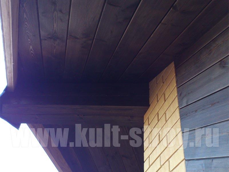 подшив крыши дома во Всеволожском районе