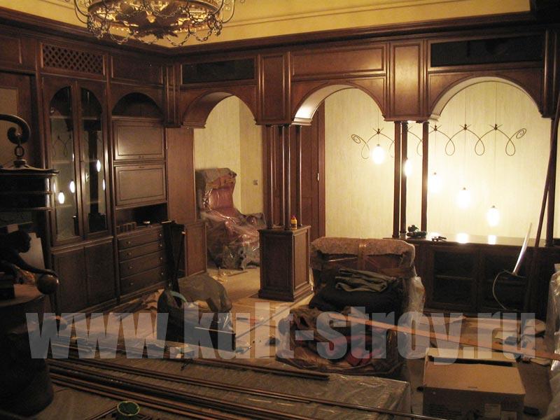помещение в классическом стиле